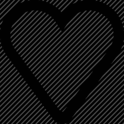 full, heart, love, romantic, valentine icon