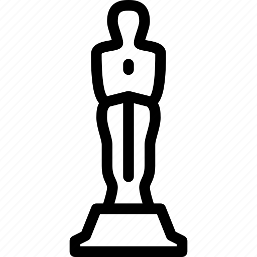 achievement, award, medal, oscar, winner icon