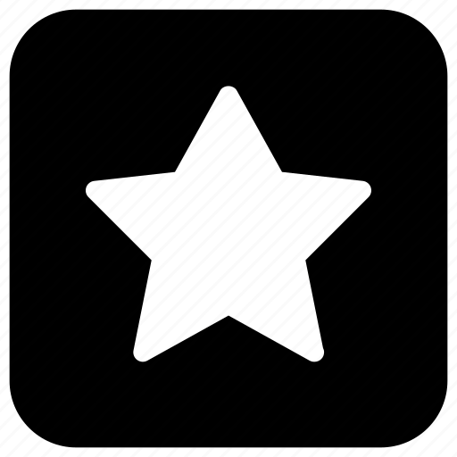 bookmark, favorite, like, rectangle, star icon