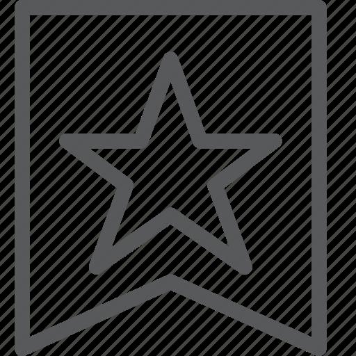 award, badge, medal, prize, rewards, ribbon, star icon