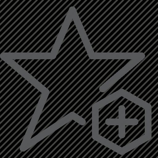 award, badge, increase, medal, prize, ribbon, star, vote icon