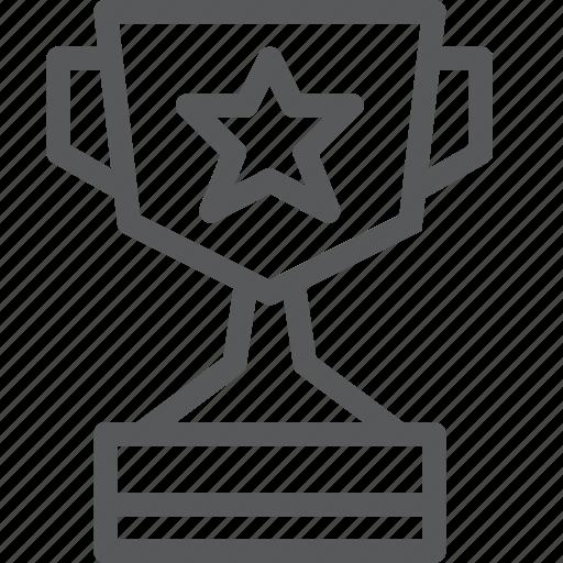 achievement, award, prize, star, success, trophy, vote, winner icon