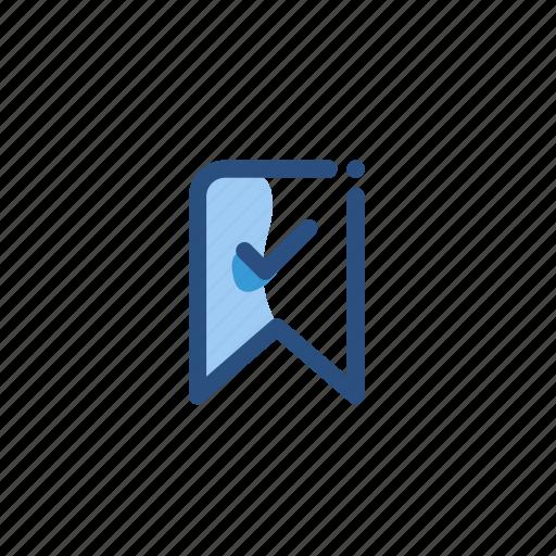 bookmark, mark, tag icon