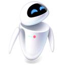 eve, pixar, robot icon
