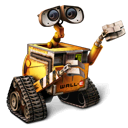 pixar, robot, wall-e, walle icon