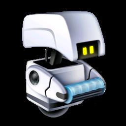 pixar, robot icon