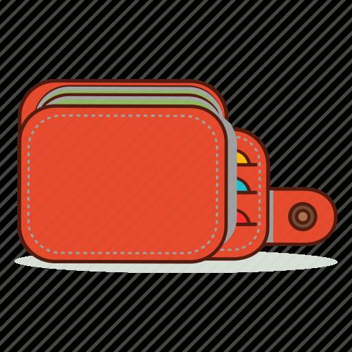 cartoon, cash, cute, emoji, expression, money, wallet icon