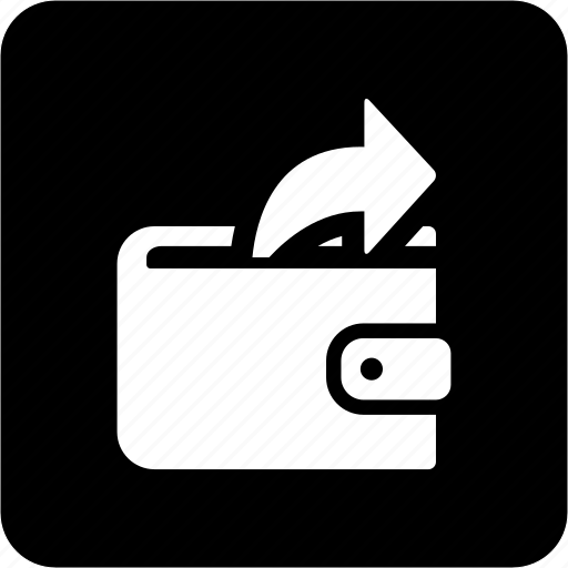 money, outgoing payment, payment, wallet icon