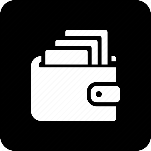 cash, money, payment, pocketbook, wallet, wallet with cash icon
