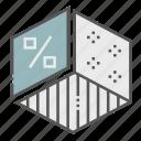 analytics, chart, diagram, pie chart, presentation, report, statistics icon