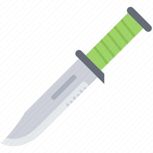battle, combat, knife, military, war, weapon icon