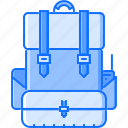 backpack, battle, military, soldier, war, weapon icon