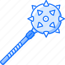 battle, mace, military, war, weapon icon