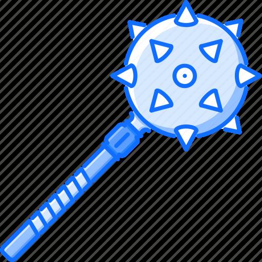 battle, mace, military, war, weapon icon