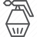 crime, danger, explosion, grenade, military, throw, war, weapon icon