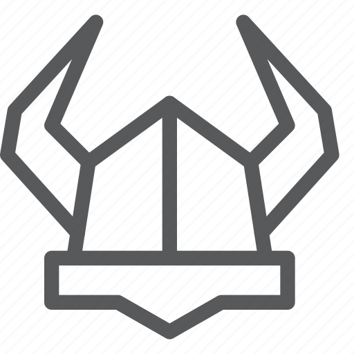 armor, cap, crime, hat, helmet, protection, viking, war icon