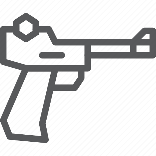 Pistol, crime, danger, gun, hand, shoot, weapon icon - Download on Iconfinder