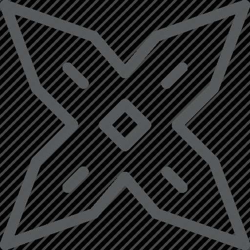 crime, defend, japanese, ninja, shuriken, war, weapon icon