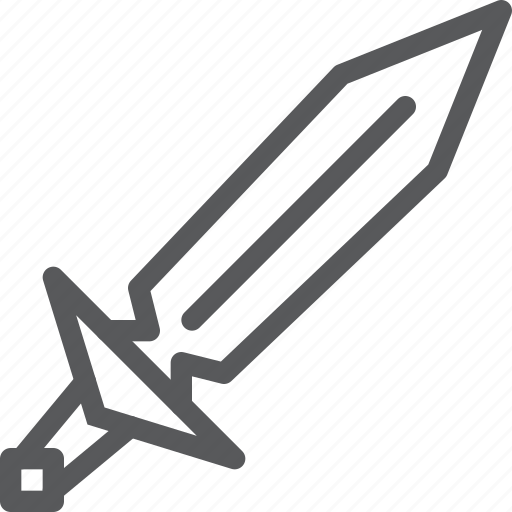 aggression, crime, medieval, sharp, sword, war, weapon icon