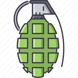 battle, explosion, grenade, military, war, weapon icon