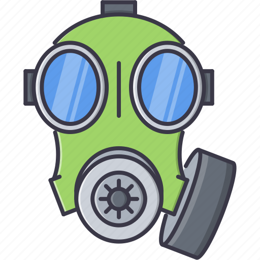 battle, gas, mask, military, war, weapon icon
