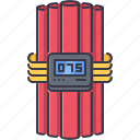 battle, bomb, dynamite, military, tnt, war, weapon icon