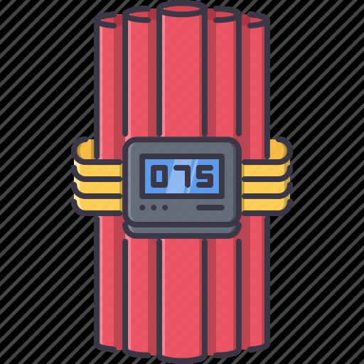 battle, bomb, dynamite, military, tnt, war, weapon icon