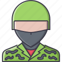 battle, military, soldier, war, weapon icon