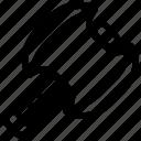 axe, cut, scissors, work icon