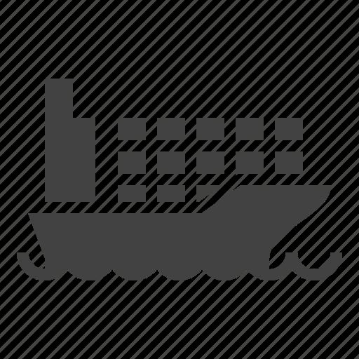 cargo, freight, logistics, shipping, transportation icon