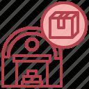 stock, logistics, warehouse, package, box