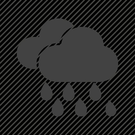 Heavy, monsoon, rain, rainfall, storm, warning icon - Download on Iconfinder
