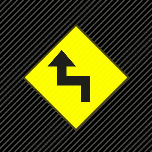 label, sign, warning, warning sign icon
