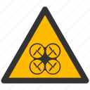 attention, caution, damage, danger, exclamation, protection, quadcopter, risk, safe, safety, uav, warning icon