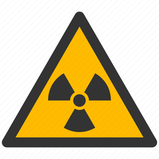 alarm, alert, atomic, attention, caution, damage, danger, exclamation, hazard, nuclear, problem, protection, radiation, radioactive, risk, safe, safety, warning icon