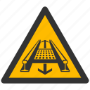 danger, exclamation, hazard, problem, protection, rolling mill, safe, safety, warning icon