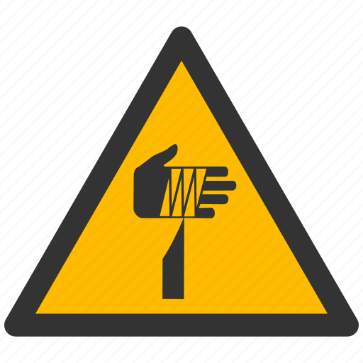 alarm, alert, attention, caution, damage, danger, exclamation, hazard, object, problem, protection, risk, safe, safety, sharp, warning icon