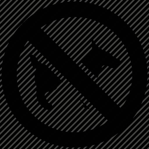 ban dog, dog, forbid ban, no pets, pets, prohibited icon