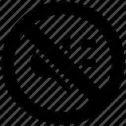ban sound, no sound, prohibited sound, restriction sound icon