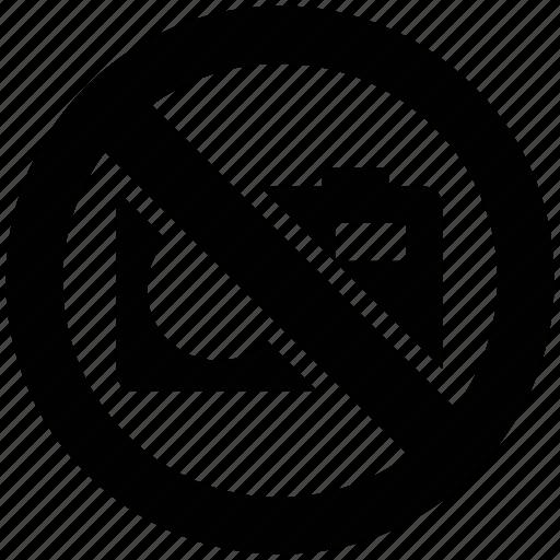 avoid camera, beware camera, no allowed camera, not capture picture icon
