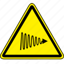 hazard, light, uv, uv light hazard icon