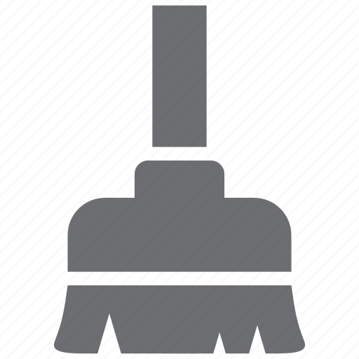 broom, clean, cleaning, mop icon