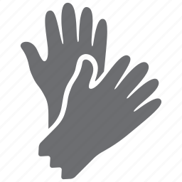 glove, gloves, hand, mitten icon