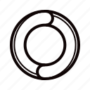 arrow, circle, direction, recycle icon