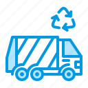 garbage, trash, truck, waste icon