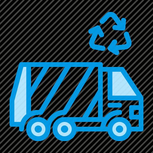 garbage, trash, truck, waste icon