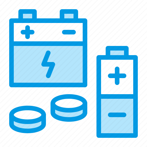 battery, energy, recycling, waste icon