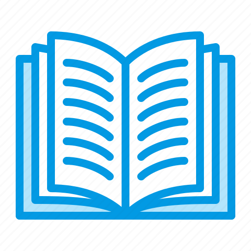 book, paper, read, recycling icon