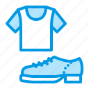 clothes, shirt, shoes, t icon