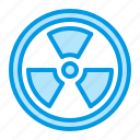 danger, radioactive, toxic, waste icon